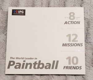 Paintball package 10 people