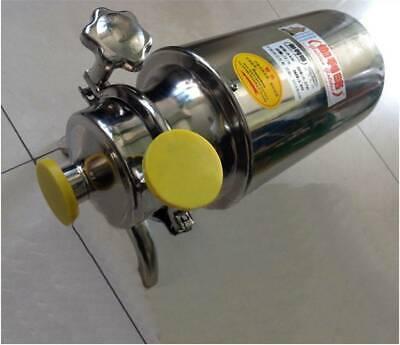 220v Stainless Steel Sanitary Pump Beverage Milk Delivery Pump 1th 0.37kw