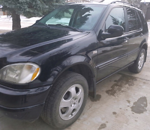 Open to Trade: 2000 Mercedes ML430 fully loaded, V8 4.3L