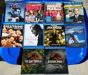 VARIOUS BLU-RAY FILMS - NEW/UNOPENED