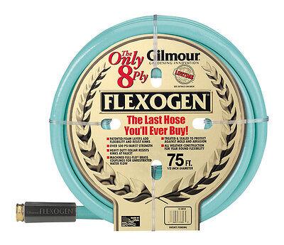 """Gilmour Flexogen 10-12075 Garden Hose 1/2"""" x 75' 500 PSI 8-ply 10 Series  NEW!"""