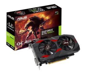 New Asus GeForce Cerberus GTX Nvidia 1050 Ti OC Edition 4GB GDDR5