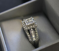WANTED WHITEGOLD WEDDING RINGS OR ENGAGEMENT RING