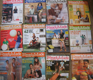 29 issues READYMADE DIY Crafts Makers hobby hobbies