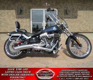 2013 Harley-Davidson FXSB Breakout CVO WHEELS, OVER $8000 UPGRAD