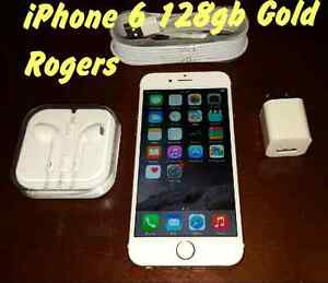 IPhone 6 128gb Gold with Rogers. *** PICK UP ASAP ***