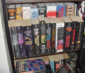 Group of Stephen King Hardcover Books