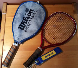 2 Racquetball Rackets, Wilson, with cover & Ektelon, $15 for all
