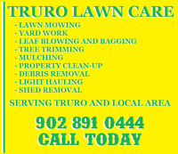 TRURO LAWN CARE - FALL CLEAN UP SPECIAL