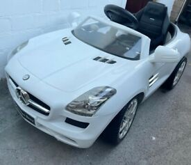 Mercedes SLS electric ride on with battery-6v