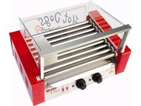 Red Nine Roll Grilled Sausage Machine / Baked Ham Machine / Grilled Hot Dog Machine