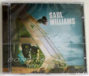 SAUL WILLIAMS - Same S/T - CD Sigillato - Italia - L'oggetto può essere restituito - Italia