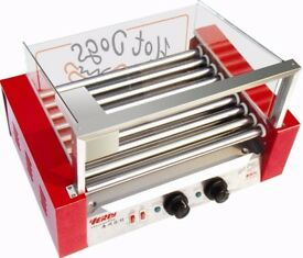 Nine Roll Grilled Sausage Machine / Baked Ham Machine / Grilled Hot Dog Machine wy-009
