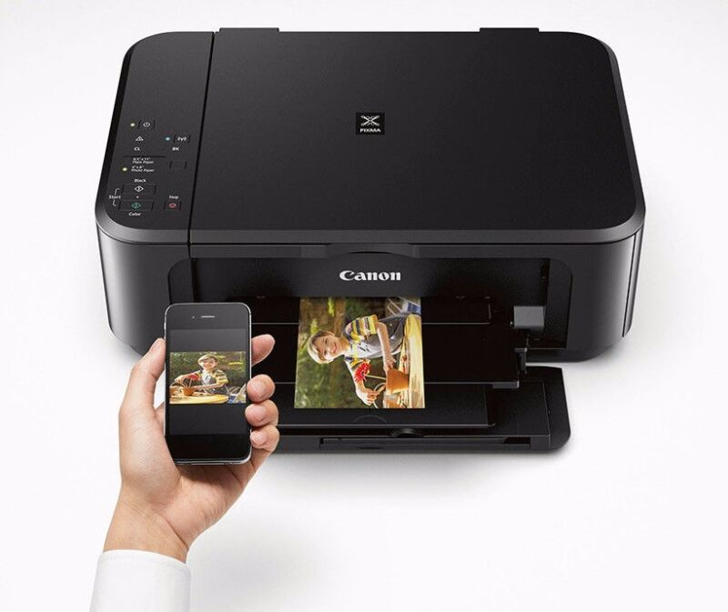 Canon PIXMA Wireless All-In-One Printer Wi-Fi Android Airprint iOS ink not incl