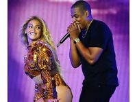 Beyonce and Jay Z OTR Concert Tickets @London Stadium, Stratford on 15.06.18