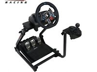 Logitech G29 Racing wheel + Omega Mount + Gearbox mount V1 PS4 PC PlayStation 4