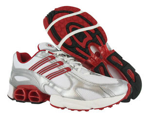 Adidas A3 Axiom Running Shoes White Red Sz 11.5 Mens