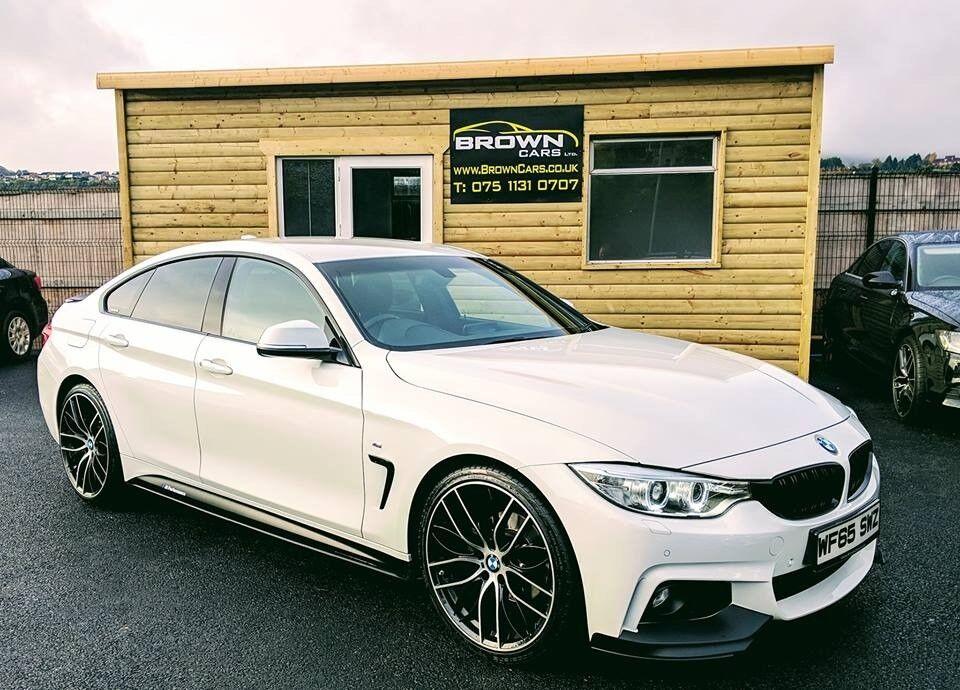 2015 BMW 420D M SPORT GRAN COUPE 4d ****M Performance Kit ...