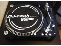 DJ-Tech Vinyl USB 20 Turntable