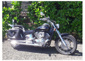 Yamaha XVS1100 Dragstar V.lowMiles 5600 MINT& £2kExtras Swap Rocket 3 Victory Luxury Car