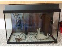 fish aquarium jewel 2ft tank with accessories