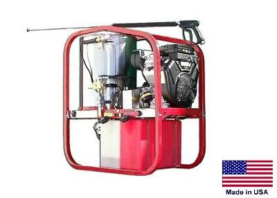 Pressure Washer Coml - Hot Cold Steam - 3.5 Gpm - 4000 Psi - 13 Hp Honda