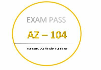 AZ-104 Exam dumps in PDF, VCE - JULY updated!! 306 Questions!!