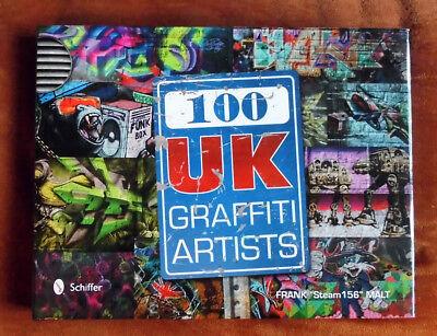 """Graffiti Buch / Magazine """"100 UK Graffiti ARTISTS"""" Walls Streetart Montana"""