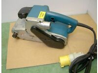 Makita 9404 Heavy Duty 100mm Belt Sander 110 volts - GWO with New Pads for sale  Benson, Oxfordshire