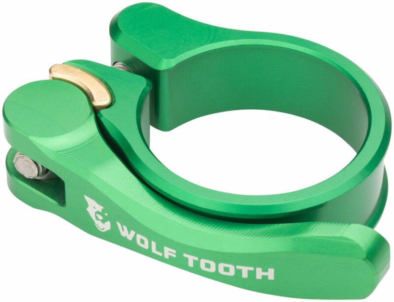 Wolf Tooth Components Quick Release Seatpost Clamp - 34.9mm Green