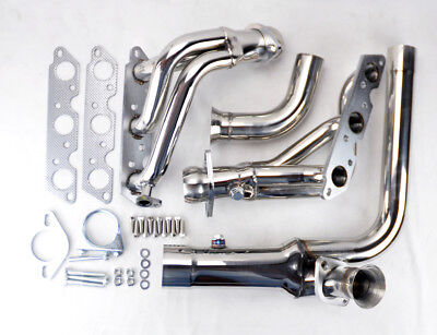 1995 Chevrolet Camaro Headers (Stainless Exhaust Manifold Headers w/ Downpipe Fits Chevy Camaro 95-99 3.8L)