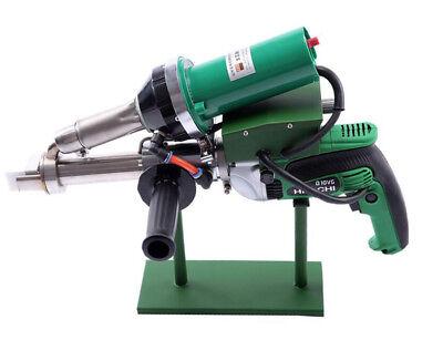 Handheld Plastic Extruder Hot Air Gun Pe Pp Extrusion Welding Machine 220v