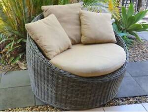 Outdoor Woven Round Lounge