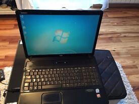 "HP 6830s laptop , 17"" widescreen, win 7, webcam and mic, dvdrw, wifi, in great condition."