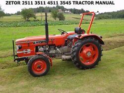 Zetor 2511 Farm Tractor | Zetor Farm Tractors: Zetor Farm