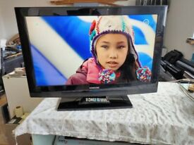 samsung 32 inch hd tv+freeview+remote+DELIVERY