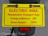 Electric eapc bike - scooter -moped