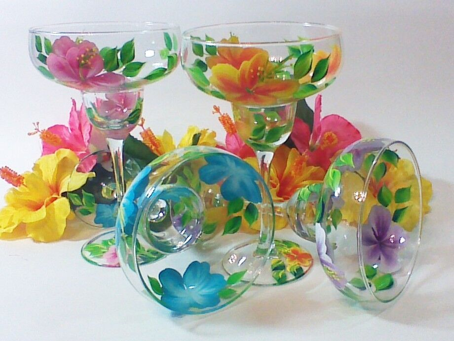 Painted Decor Glassware and More