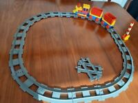 Duplo (Lego for toddlers)Train and track