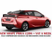 Toyota Prius Hire £200 P/W | PCO Car Hire | Pco Car | Rent a Car | Uber car | Mercedes E class hire