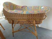 Wicker Crib