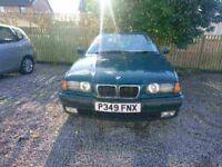 BMW 323i SE AUTO 2.5 petrol for spares or repair.