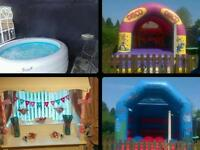 HOT TUBS , BOUNCY CASTLES , CANDY CART / SWEET CART HIRE ***********