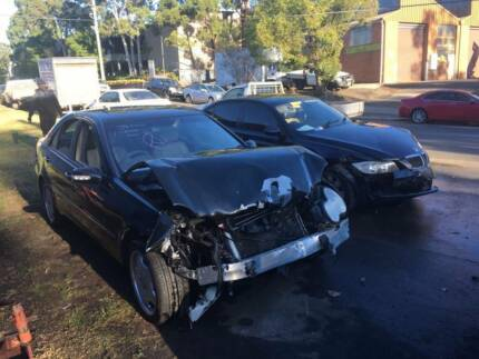 Mercedes C-Series 2002 BLACK AUTOMATIC NOW WRECKING ENTIRE CAR! Northmead Parramatta Area Preview