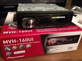 Pioneer mechless car audio unit