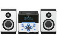 ***NEW***Bush Bluetooth CD DAB Micro System. DAB / FM Radio CMC361DABBT