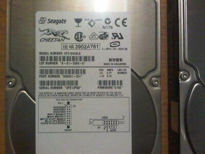 SEAGATE  ST318406LC  18GB SCSI 80 PIN. 3.5