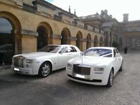 Rolls Royce GHOST, PHANTOM or Bentley Weddings Best Deals PRICE MATCH