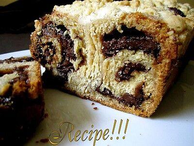 ☆Yeasted Meringue Chocolate Cinnamon Coffee Cake