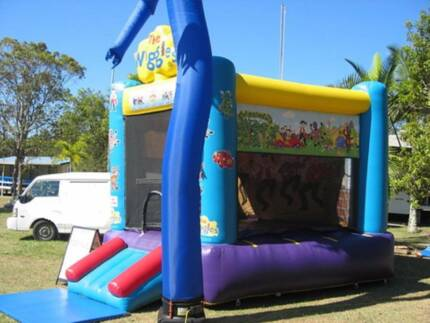 JUMPING CASTLE HIRE WIGGLES Mermaid Beach Gold Coast City Preview